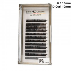 Lashes Germany – D-Curl Wimpernextensions 0,15 10mm