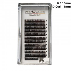 Lashes Germany – D-Curl Wimpernextensions 0,15 11mm
