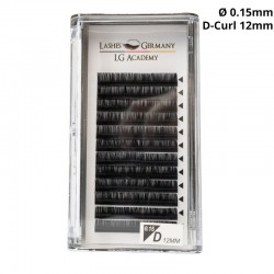 Lashes Germany – D-Curl Wimpernextensions 0,15 12mm