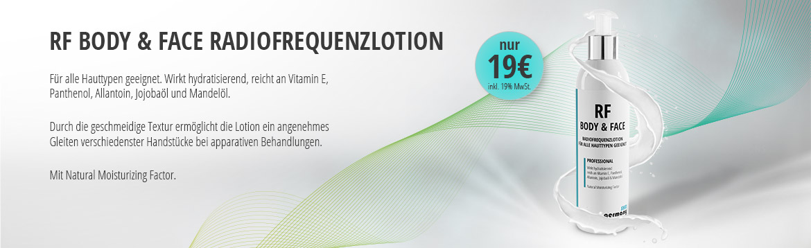 RF BODY & FACE RADIOFREQUENZLOTION